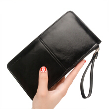 YOOHUI PQ7 Fashion women wallet oil wax leather wallet card cash top quality