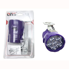 SCARLET RACING -Lampu Tembak -6 LED Flash Ons Purple Others