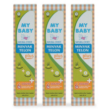 My Baby Minyak Telon Plus 90 ml - 3 Pack