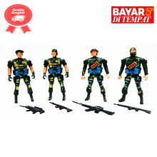 tomindo soldiers isi 4 pcs