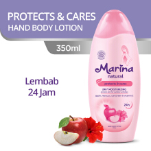 MARINA Hand & Body Lotion Natural Protect & Cares 350 ml