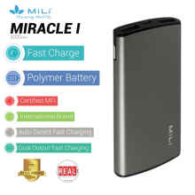 MiLI Power Miracle I Powerbank 5000mAh - Grey