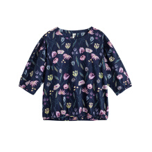INMAN 1882013438 Blouse Women Summer Floral Top Clothing Shirt