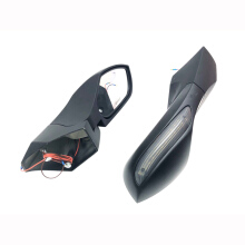 SCARLET RACING -kaca spion Lipat - NMAX 2976 Black doff Others