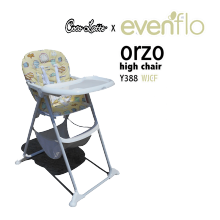 COCOLATTE High Chair Evenflo Orzo Y388 - WJCF