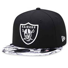 NEW ERA Marble Print - Oakland Raiders Black (9Fifty/Snapback) [S/M] 11538517