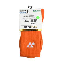 YONEX Match Plus Men's Socks Regular - Orange [Pair] SSMP 1855S-SR CO
