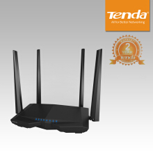 Tenda AC6 - Router WiFi Dual-band Canggih AC1200 - Black