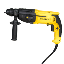 Stanley 800W 26mm 3 Modes SDS Plus	Rotary Hammers + Kitbox Bonus 6 SDS Plus