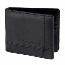 GOLFER - MEN WALLET DOMPET KASUAL PRIA - GF.1402 - BLACK