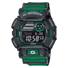 Casio G-Shock GD-400-3DR Digital Dial Green Resin Strap [GD-400-3DR]