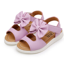 Aosen Girl's Sandals Bowknot Kids Pricness Shoes