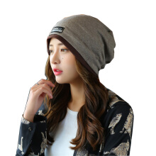 SiYing fashion wild double layer men and women autumn and winter baotou hat