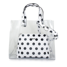 Bellagio Poppy-870 Polkadot Hand Bag