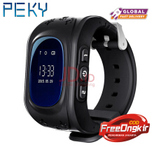PEKY Q50 Oled Screen GPS LBS Tracker Watch Anti-Lost SOS Support SIM Card Dial Call Baby Smart Watch For Children Watch Phone