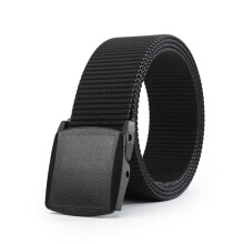 AWMEINIU Original imported fashion plastic buckle head tank nylon belt
