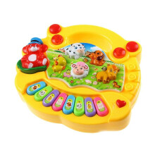 MAINAN BAYI ANIMAL FARM MUSIK PIANO Yellow