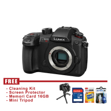 PANASONIC LUMIX DC-GH5S BODY ONLY - HITAM - FREE Accessories