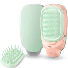 PHILIPS HP4675 / 95 Ionic healthy Comb  Anti-static Multi-functional Hairdressing Comb macarons green