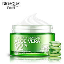 BIOAQUA Original Aloe Vera 92% Serum Wajah Essence Soothing Gel Serum Krim Wajah Original 100% - 50gr