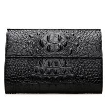 YOOHUI   Brand Wallet Men Leather Wallets Handy Bags Purse black