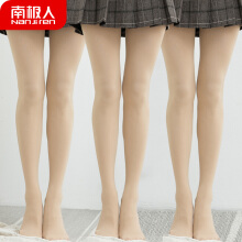 Antarctic velvet stockings female autumn and winter thin section pantyhose anti-hooking leggings fleshy color sexy black slimming legs light leg artifact NYZ5226-4 50D4 double skin color code