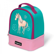 Crocodile Creek Lunch Box - Green Horse