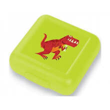 [free ongkir]Crocodile Creek Sandwich Keeper - Green T-rex