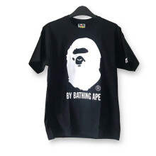 Bape Bicolor By Bathing Ape Tee - Black size M