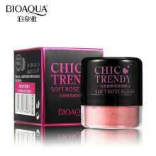 Bioaqua Chic Trendy Soft Rose Blush On Powder - Perona Pipi #01 - 4gr
