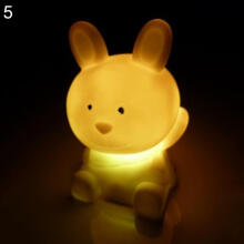 Farfi Chinese Zodiac Animal Shaped LED Flashing Color Changing Decor Night Light