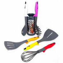 [Free Gift] OXONE Rainbow Kitchen Tools with Pot OX-956