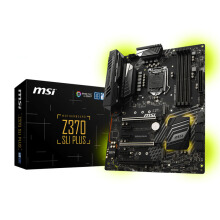 MSI Z370 SLI PLUS 3xPCIE H/D Intel Socket 1151 ATX Motherboard