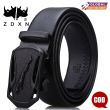 ZDXN Men's fashionable leisure belt - Black(120cm)