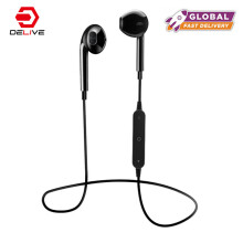 DELIVE New Original S6 Sport Bluetooth Earphones Bluetooth V 4.0 Headphones Stereo Bass Headset With Micphone