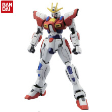 Bandai Gundam Original HGBF 1:144 Japan Anime Action Figures Build Burning Robot Toys Plastic Model Collections Display HGD-193230