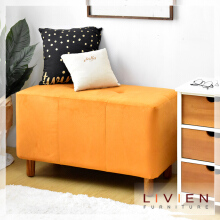LIVIEN  Tubies Bench Sofa Orange - Kursi - Bangku - Furniture
