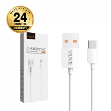 VIDVIE Micro USB Cable CB412 / Kabel Data / Fast Charging - White