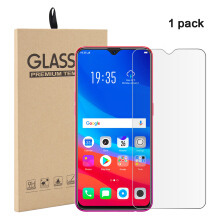 MOONMINI for  1 Pack Oppo F9 Tempered Glass Screen Protector Film Anti-Scratch Screen Cover As Shown