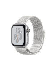 Apple Watch Series 4 GPS Nike 40mm Silver Summit White Sport Loop