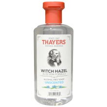 Thayers Witch Hazel Aloe Vera Formula Alcohol Free Toner Unscented 12 fl oz 355 ml