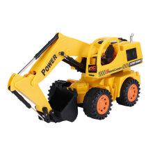 5CH Wheel Excavator Remote Control Super Electric Wire Control With LED Light Yellow