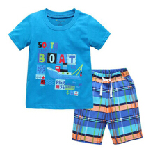 Kids Boys Summer Outfits Short Sleeve T-Shirt & Shorts Sets Toddler