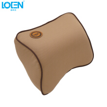 Jantens Car Pillow Space Memory Foam Fabric Neck Headrest Car Covers Vehicular Pillow Car Seat Cover Headrest Neck Pillow