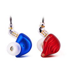 TFZ Queen HiFi In Ear Monitor Earphone with Detachable Cable - Mix Red Blue