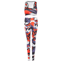 Fashionmall Women Fitness Sports Suit Running Yoga Tracksuit Female Gym Clothing Bra Leggings
