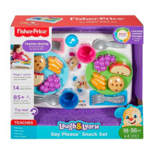 FISHER PRICE Laugh & Learn® Say Please Snack Set DRF59