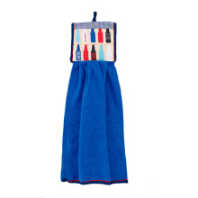 ARNOLD CARDEN Double Hand Towel Cheers Bottle - Blue
