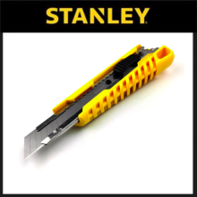 Stanley 18mm Basic SnapOff Knife  Dial Lock STHT103218