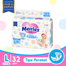 MERRIES Premium Popok Tape L - 32